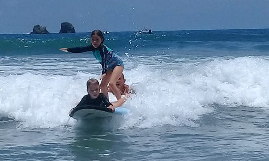 Learn To Surf In Quepos, Costa Rica With Our Experienced Instructors!