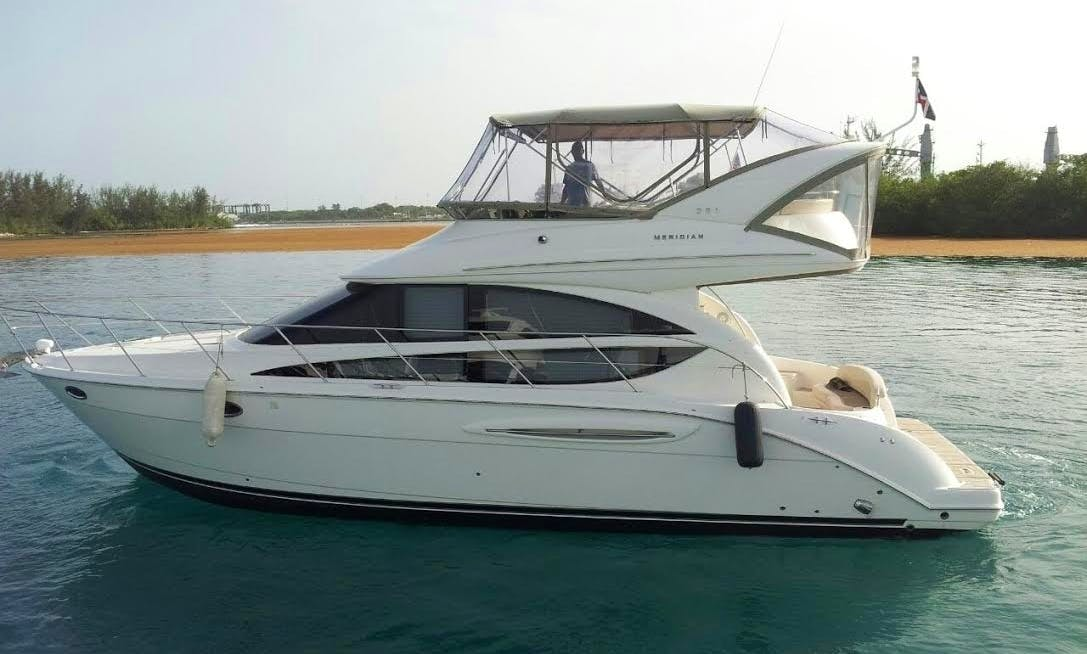 Meridian Yacht Rental for 12 people in Punta Cana
