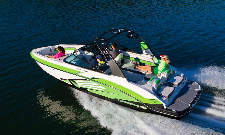 Stylish 2017 23' Twin Supercharged Jet Boat