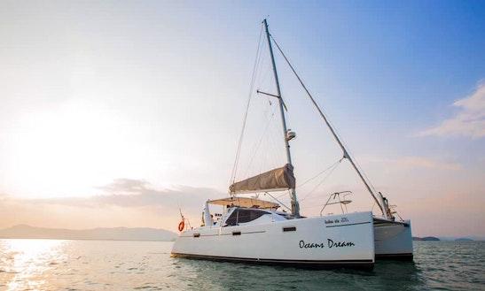 "Charter A 40ft ""oceans Dream"" Admiral Cruising Catamaran In Phuket, Thailand"