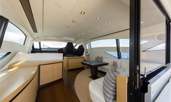 Charter this 2009 Pershing 72 in Miami for 12 guests