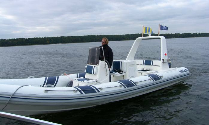 Hitek 75 RIB Rental for 10 People in Bad Saarow, Germany