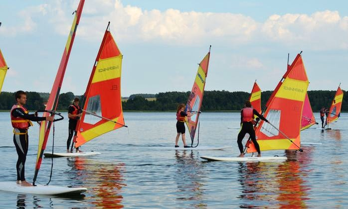 Amazing Windsurfing Rental in Bad Saarow, Germany