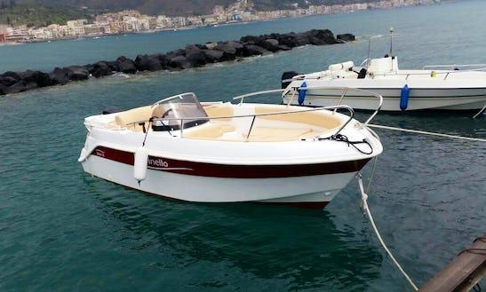 Marinello Fisherman 19 Ready To Rent In Giardini Naxos, Italy