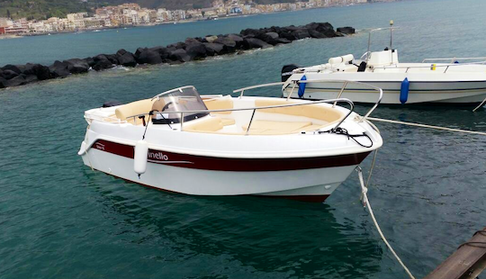 Marinello Fisherman 19 Ready To Rent In Giardini Naxos, Italy