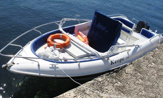 Rent Keope 590 Center Console (no Nautical License Required) In Giardini Naxos