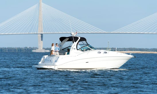 32ft Sea Ray Sundancer Motor Yacht Charter For 6 People In Charleston,sc