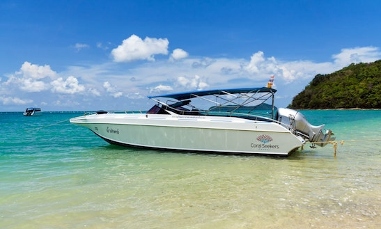 Private Speedboat Charter Phuket - Racha Island - Single Engine - Full Day