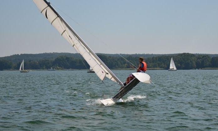 Dart 18 Beach Catamaran Rental for 3 People in Bad Saarow, Germany