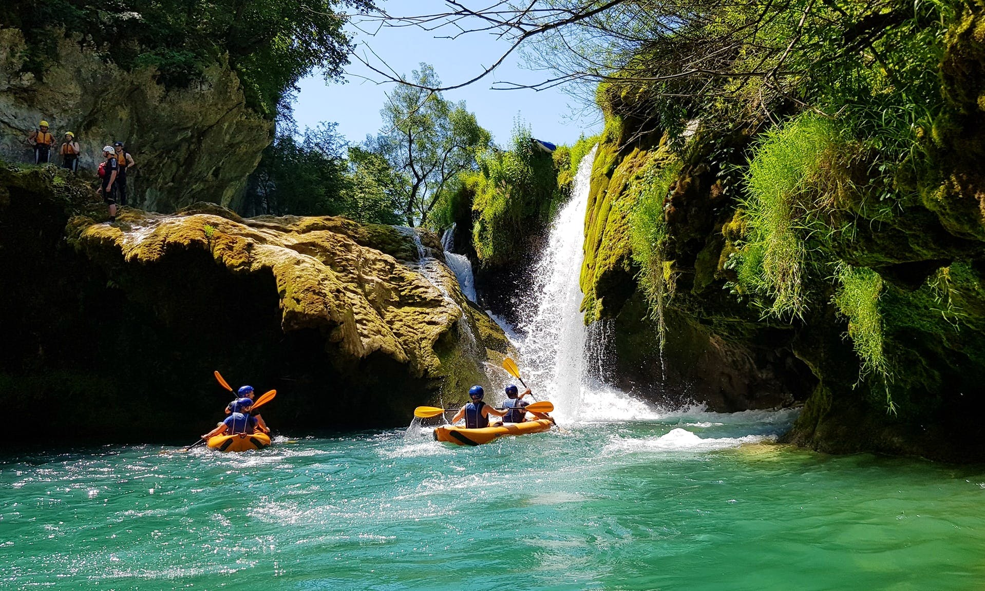 Kayak Safari on River Mrežnica in Slunj, Croatia