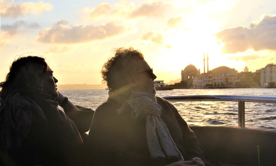 Istanbul Bosphorus 2-hours Sunset Cruise On A Luxury Yacht