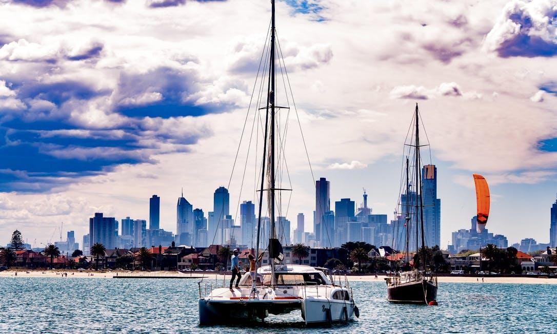 Seawind Sailing Catamaran in Melbourne, Australia