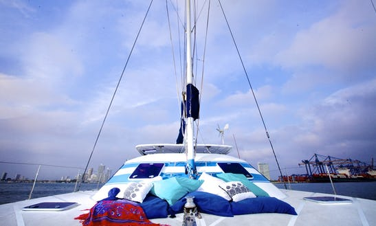 Beach Catamaran Rental In Bolívar