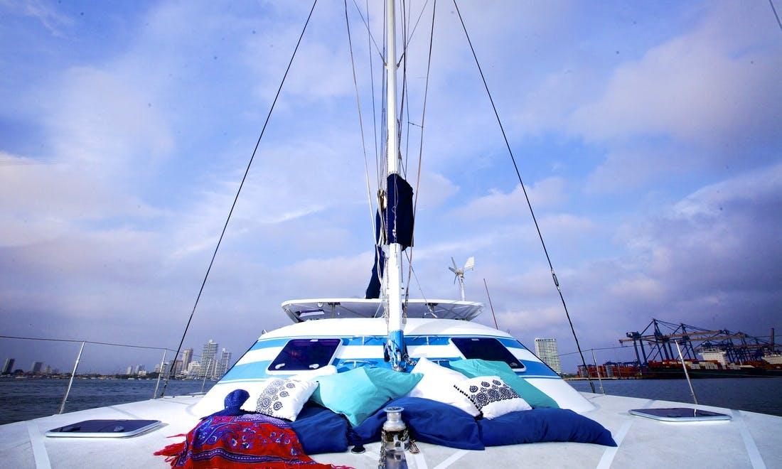 Sailing Catamaran Charter in Bolívar, Colombia