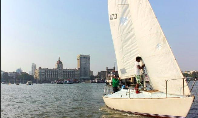 J24 Sailboat for 4 People in Mumbai