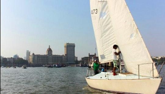 J24 Sailboat For 4 People In Mumbai