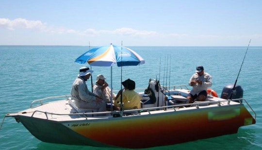 Shaded Fishing Boat & Guide Service In Darwin