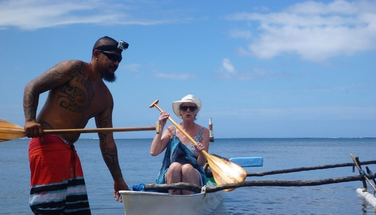 Fishing  & Outrigger Canoe Tour With A Native