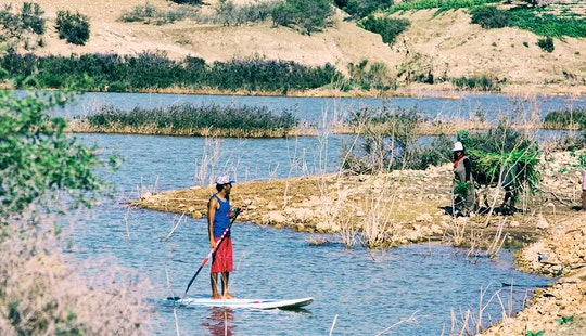 Paddleboard Lesson With Professional Instructor In Essaouira, Morocco
