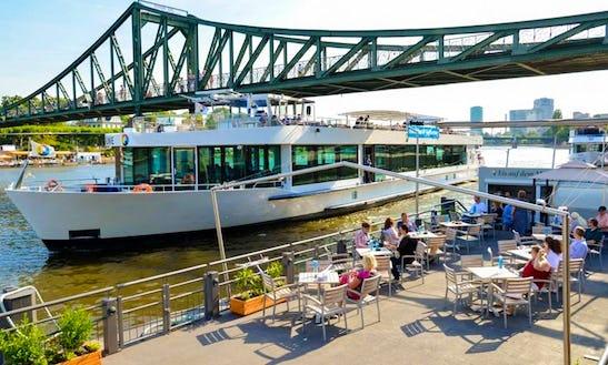 M/y Maria Sibylla Merian For 200 Passengers In Frankfurt, Germany