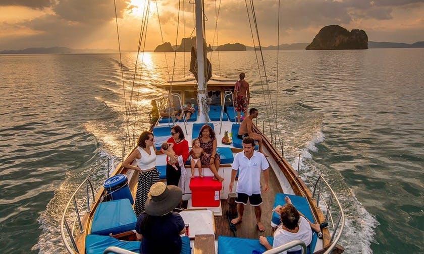 Classic Sailing Gulet 60' in Krabi