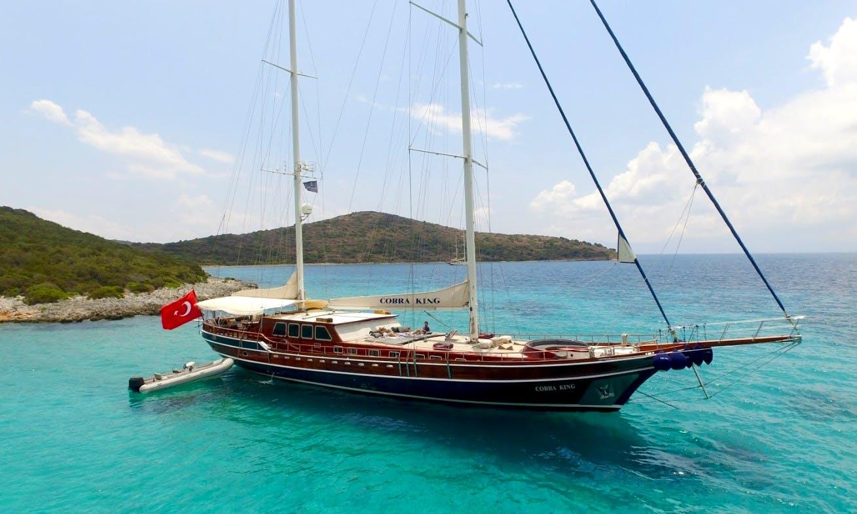 Charter 127' Cobra King Gulet in Muğla, Turkey