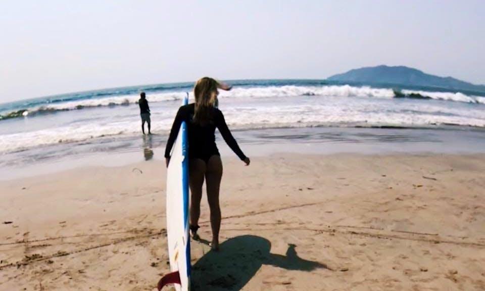 Surf Lessons in Provincia de Guanacaste, Costa Rica