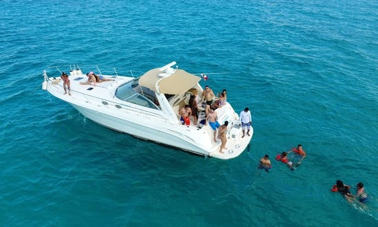 Luxury Private Yacht Tours From Cancun To Isla Mujeres Up To 15 Passenger