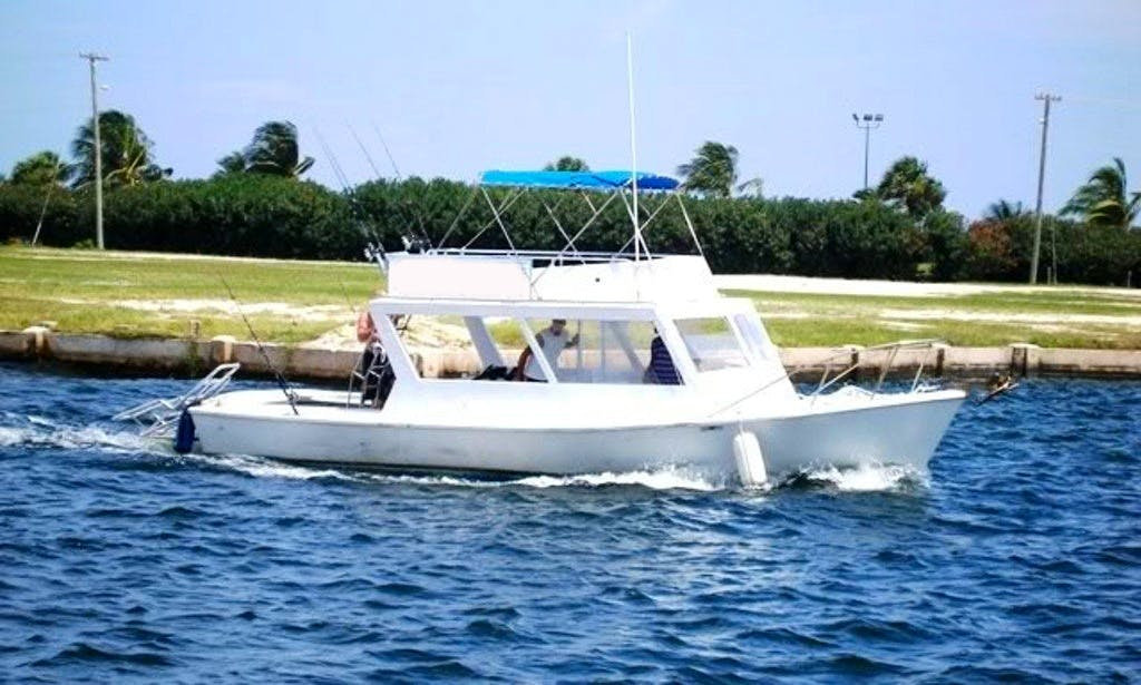 'Shalma II' Fishing Charter and Snorkeling Trips in Cayman Islands