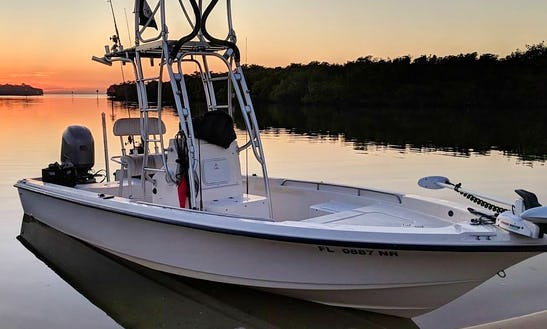 Exclusive Fishing Charter On A 22 Ft Center Console For 4 People In Ruskin, Florida