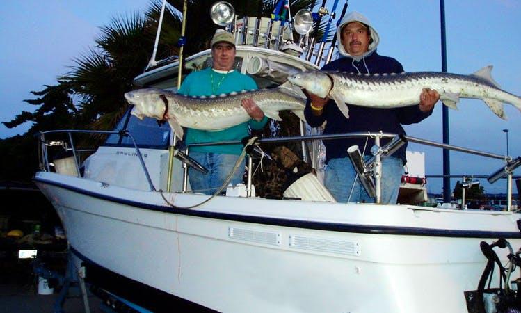 25ft 'Rodbender' Ocean Fishing Charter in Garden Valley