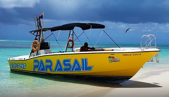 Parasailing On Grace Bay Beach