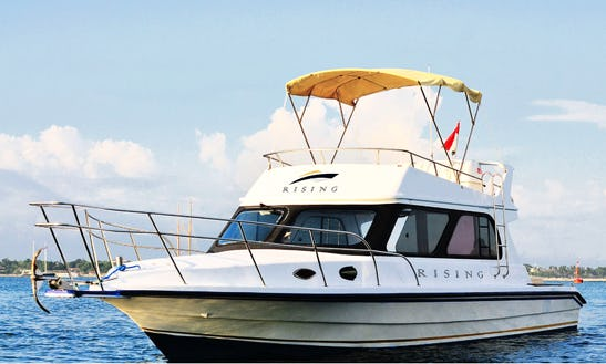 Book A 39' Rising Motor Yacht In Denpasar, Indonesia!