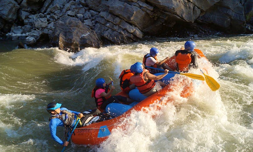 Wonderful River Rafting Trips on Amacuzac River in Mexico