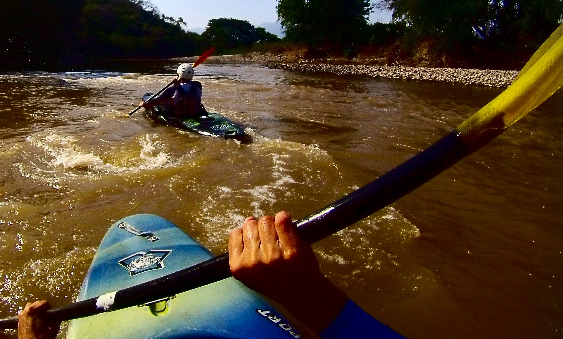 Kayak Lessons on Amacuzac River, Mexico