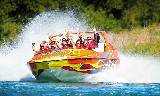 30 Minutes Jet Boat Ride + 2 Hours Rafting Trip In Queenstown