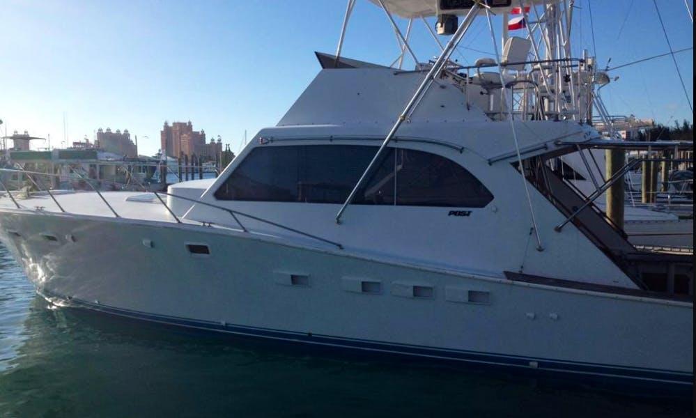 "Charter a 46ft ""La Familia De Fe"" Post Fisherman Yacht in Nassau, The Bahamas"