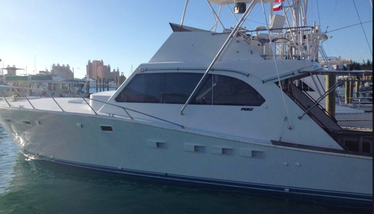 "Charter A 46ft ""la Familia De Fe"" Post Fisherman Yacht In Nassau, The Bahamas"