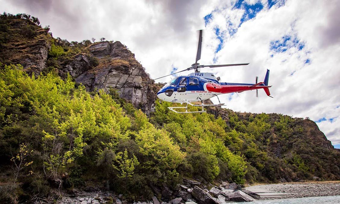 Shotover River Heli-Rafting Tour from Queenstown