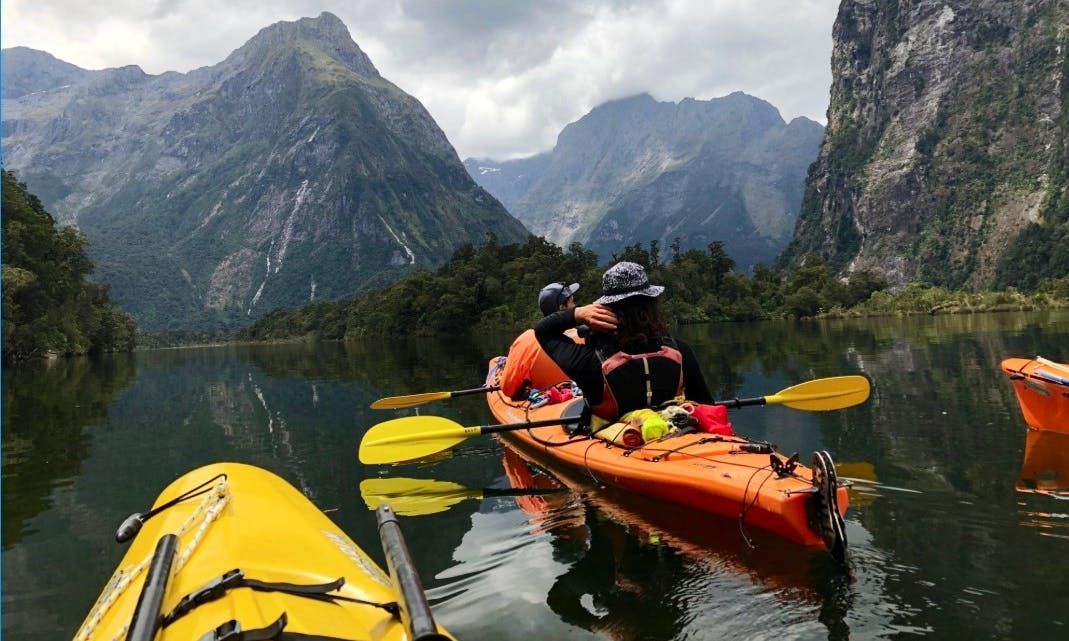 Kayak Milford Sound Tour - 4 to 5 Hours Paddle Experience!