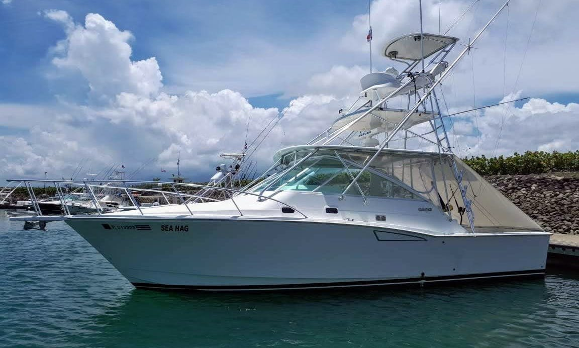 Sport Fishing Charter in Quepos, 36′ Cabo Express