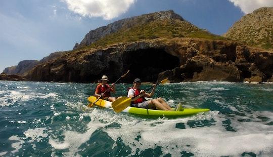 Kayaking In Denia, Spain