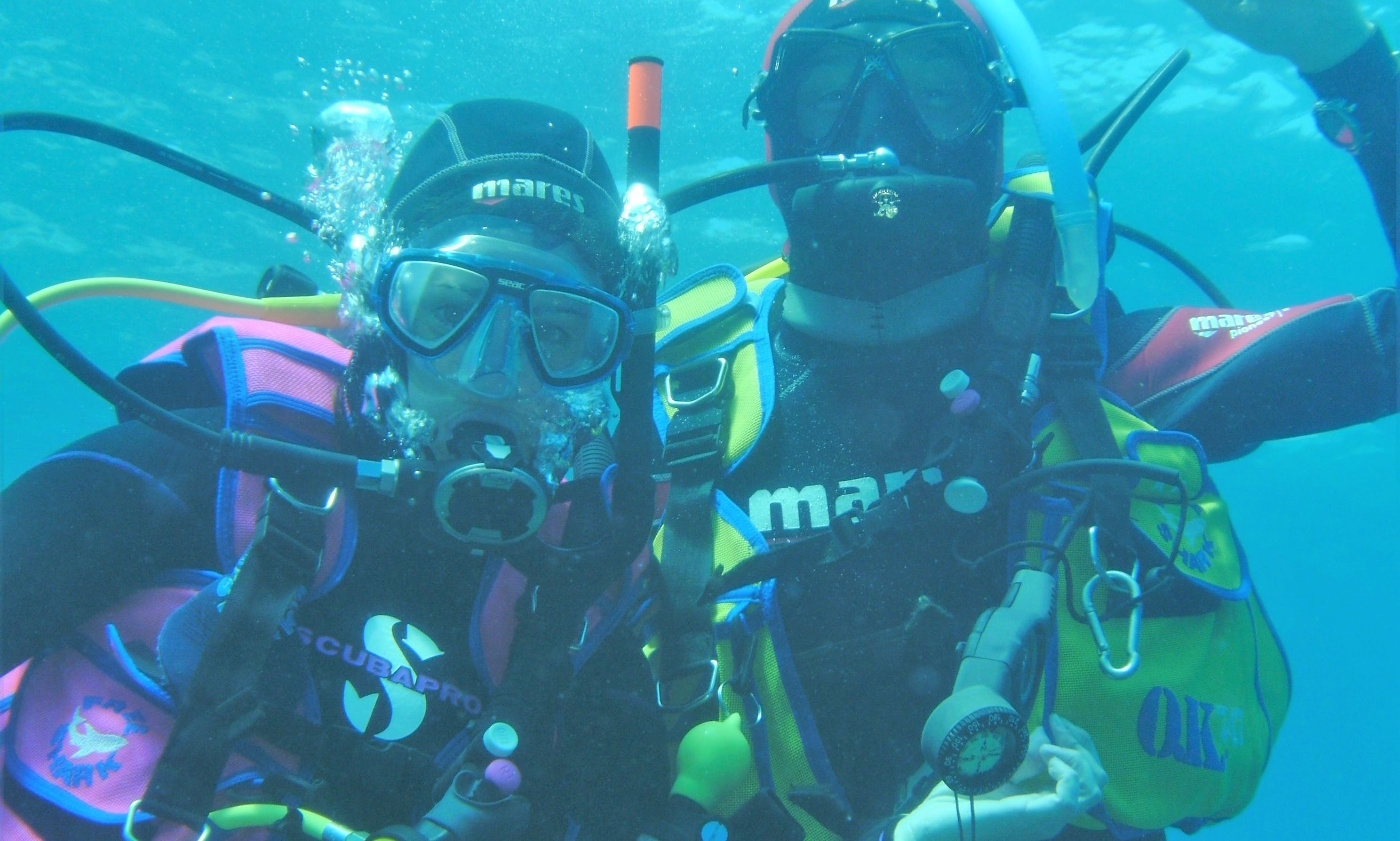 Diving Experience with the Fresh Water Specialist in Porto Ceresio, Lombardia