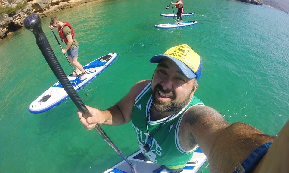 Stand Up Paddleboard Classes in Setúbal