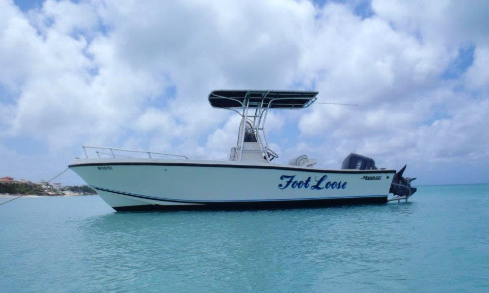 "21ft ""Foot Loose"" Mako Center Console Rental in Nassau, Bahamas"