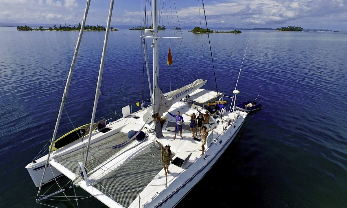 Outremer 55 Expedition Catamaran Charter for 6 People in Belize