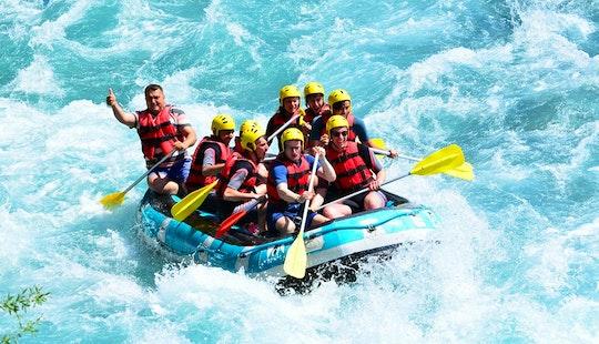 Amazing White Water Rafting In Antalya, Turkey