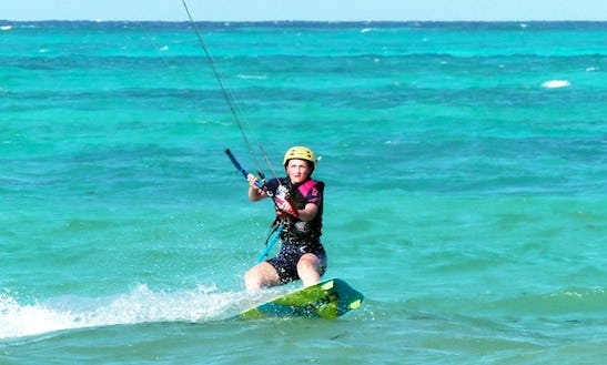 Private Kiteboarding Lessons With Professional Instructor In Zanzibar, Tanzania