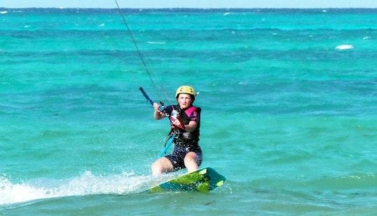 Private Kiteboarding Lessons With Professional Instructor In Zanzibar, Tanzania