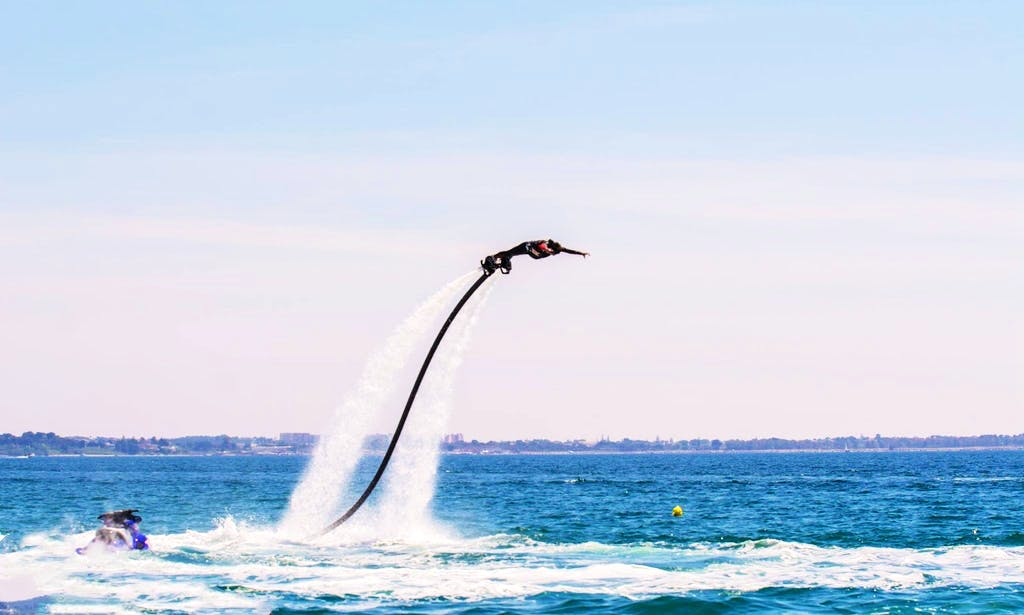 Flyboarding in Leverano